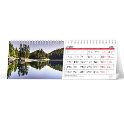 Galda kalendārs (horizontālais)