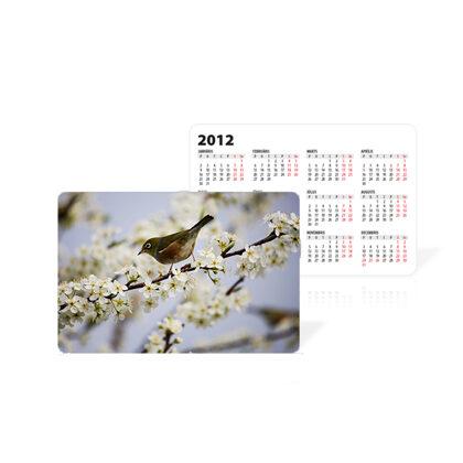 Kabatas kalendārs (90x60mm)