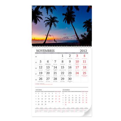 Noplēšanais sienas kalendārs L(300x600mm)