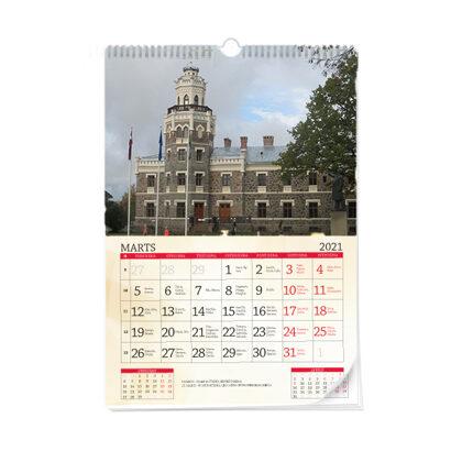 Sienas kalendārs A3